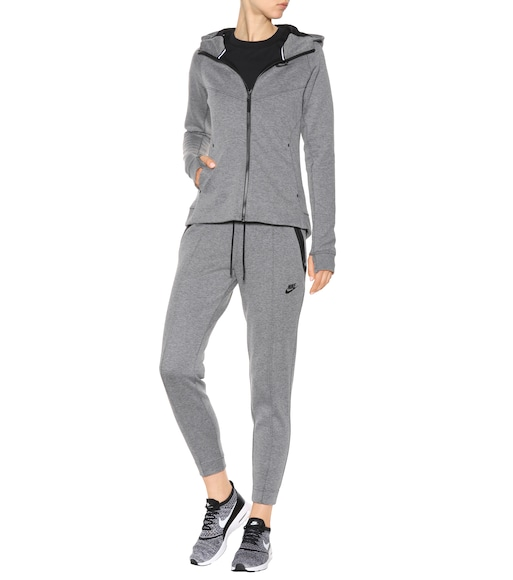 Nike - Tech Fleece cotton-blend hoodie - mytheresa.com