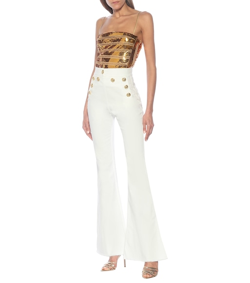 Dundas - Stretch-cotton flared jeans - mytheresa.com