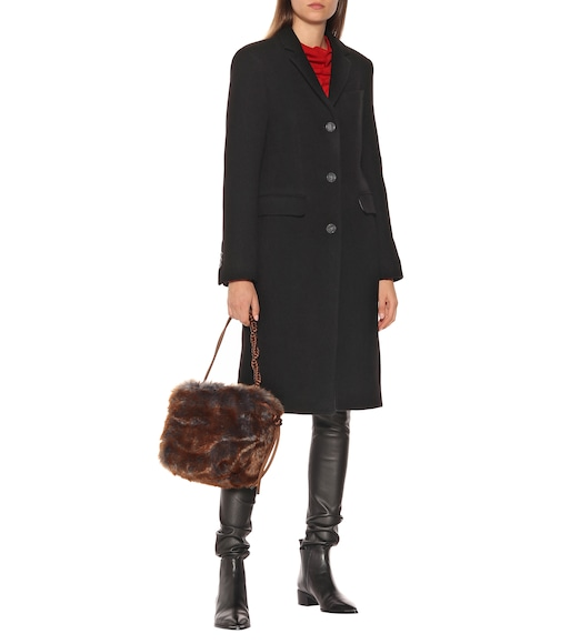 Acne Studios - Wool-blend coat - mytheresa.com