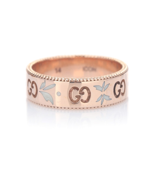 Gucci - Icon ring in 18kt rose gold - mytheresa.com