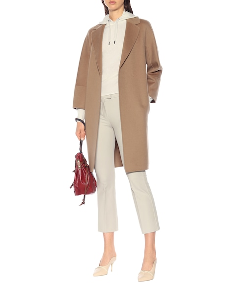 S Max Mara - Arona double-face wool coat - mytheresa.com