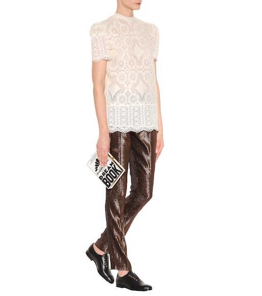 Hillier Bartley - Lace top - mytheresa.com