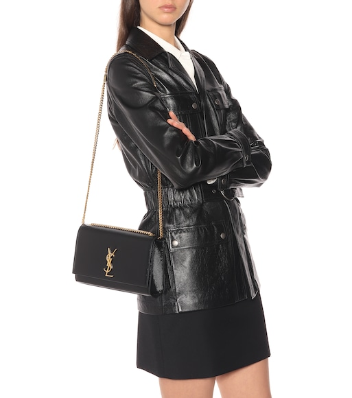 e81c576f83a Medium Kate Monogram Leather Shoulder Bag - Saint Laurent | mytheresa