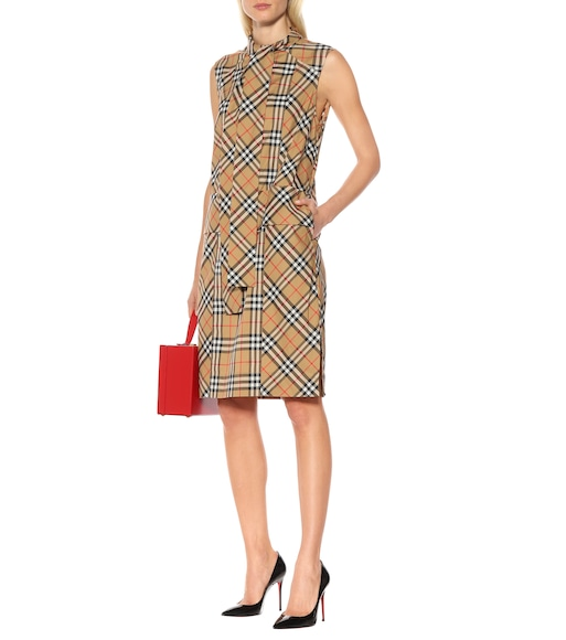 Burberry - Vintage Check cotton dress - mytheresa.com