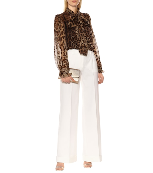 Dolce & Gabbana - Wool-blend pants - mytheresa.com