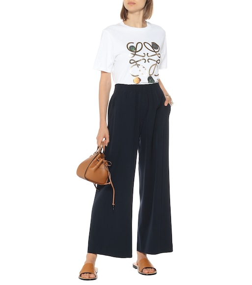 Loewe - High-rise wool pants - mytheresa.com