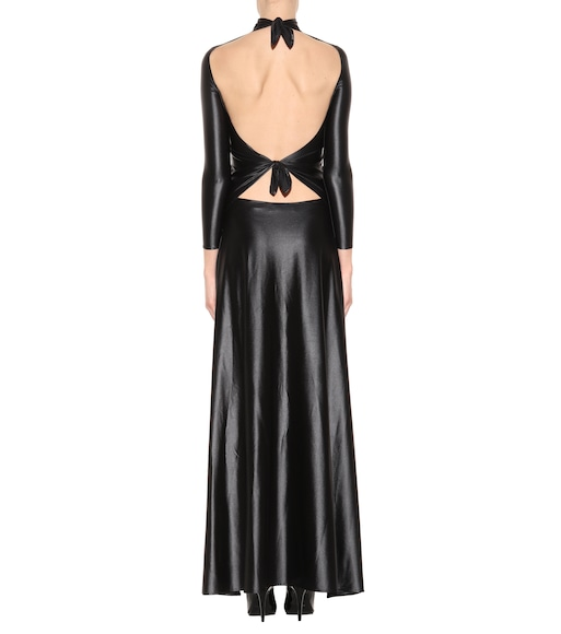 Balenciaga - Stretch-jersey maxi dress - mytheresa.com