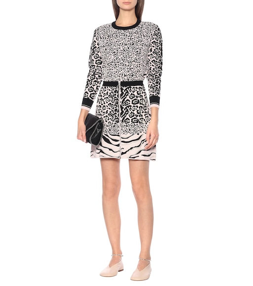 Stella McCartney - Jacquard knit skirt - mytheresa.com