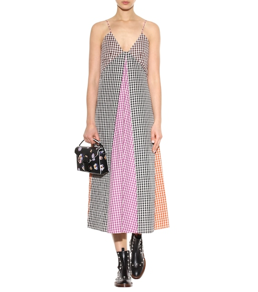 Christopher Kane - Exclusive to mytheresa.com – gingham cotton dress - mytheresa.com