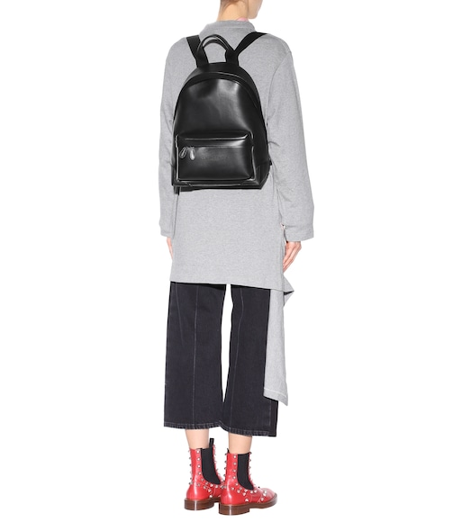 Balenciaga - Leather backpack - mytheresa.com