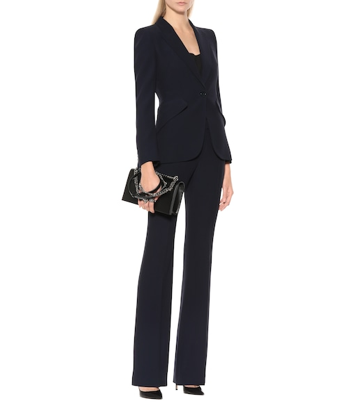 Alexander McQueen - Mid-rise flared pants - mytheresa.com