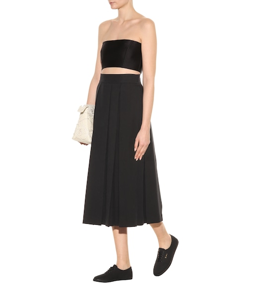 The Row - Kanu cotton skirt - mytheresa.com