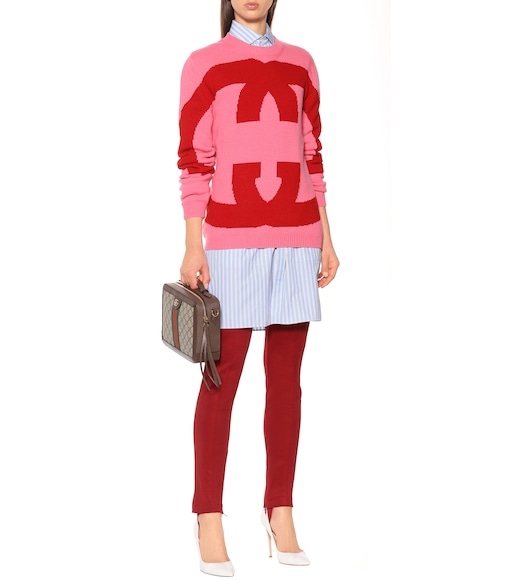 Gucci - Intarsia wool sweater - mytheresa.com