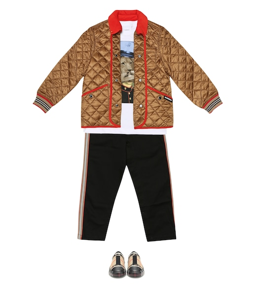 Burberry Kids - Culford quilted jacket - mytheresa.com