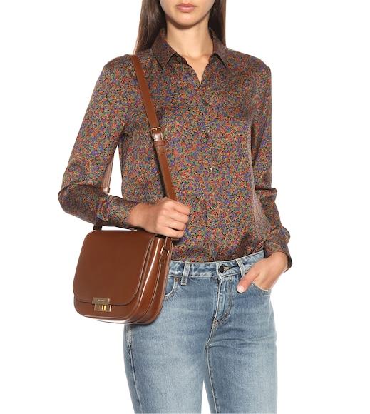 1571d2a906 Saint Laurent - Betty leather shoulder bag - mytheresa.com