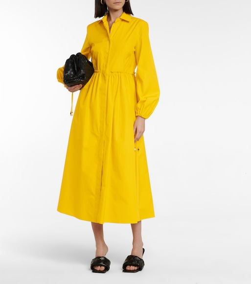 Max Mara - Bairo cotton shirt dress - mytheresa.com