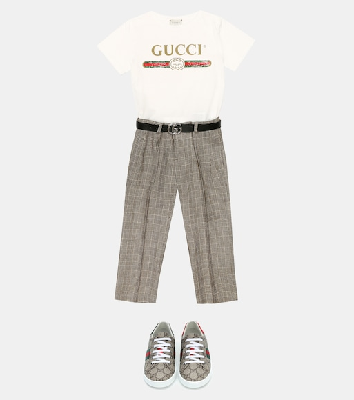 Gucci Kids - Leather belt - mytheresa.com