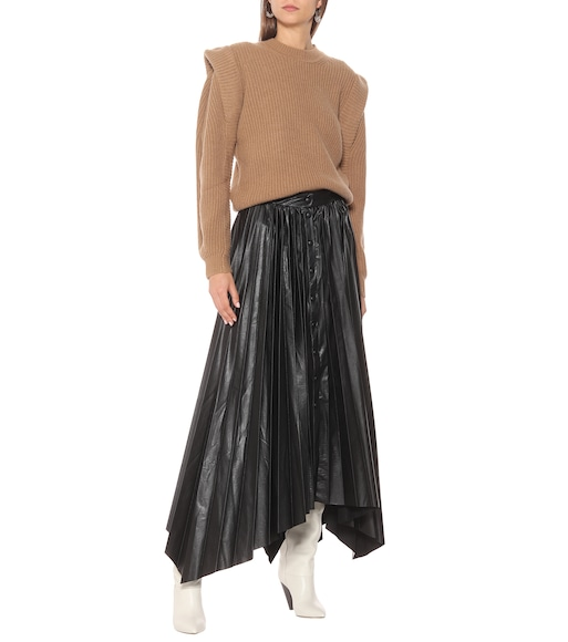 Isabel Marant - Davies pleated midi skirt - mytheresa.com