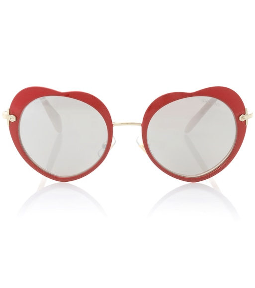 Miu Miu - Heart sunglasses - mytheresa.com