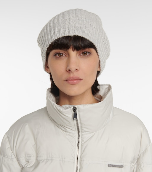 Brunello Cucinelli - Cashmere and silk beanie - mytheresa.com