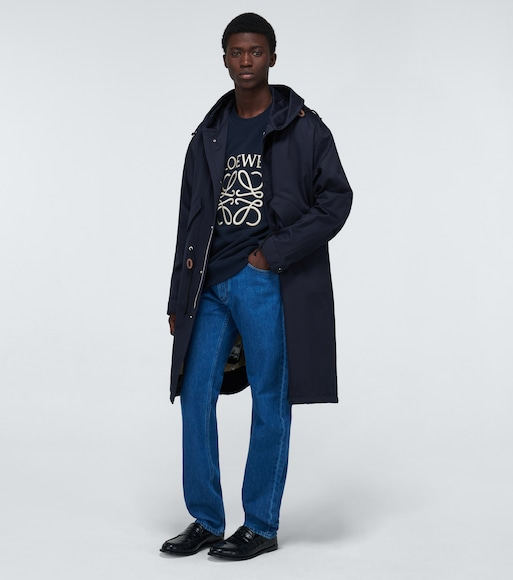 LOEWE - Hooded long parka - mytheresa.com