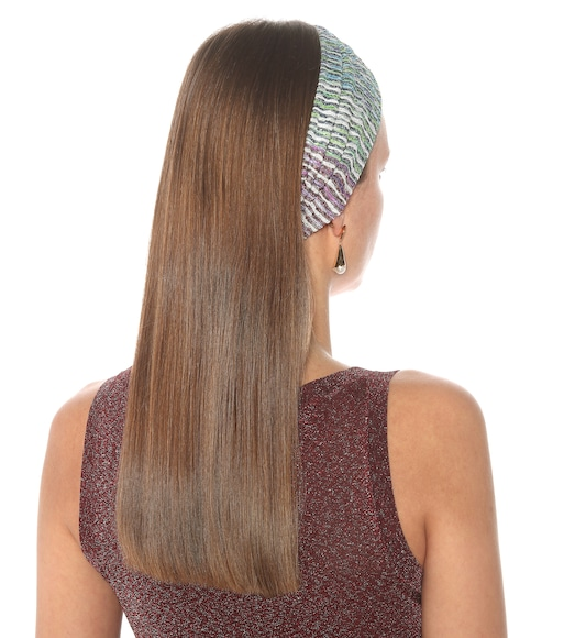 Missoni Mare - Chevron-knit headband - mytheresa.com