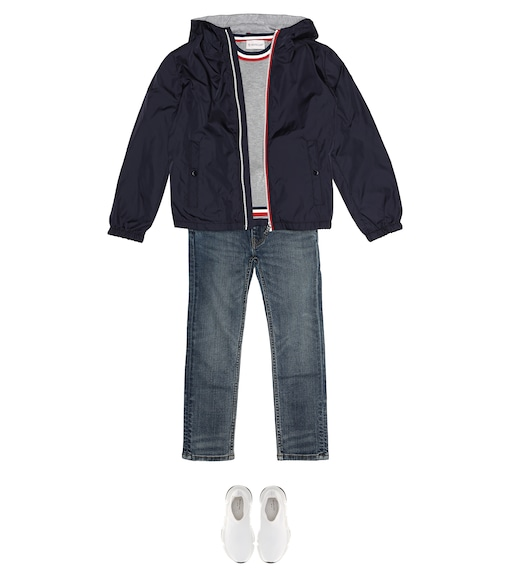 Moncler Enfant - New Urville hooded jacket - mytheresa.com