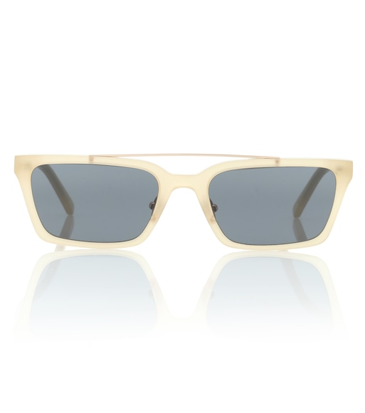 Self-Portrait - Lia rectangular sunglasses - mytheresa.com