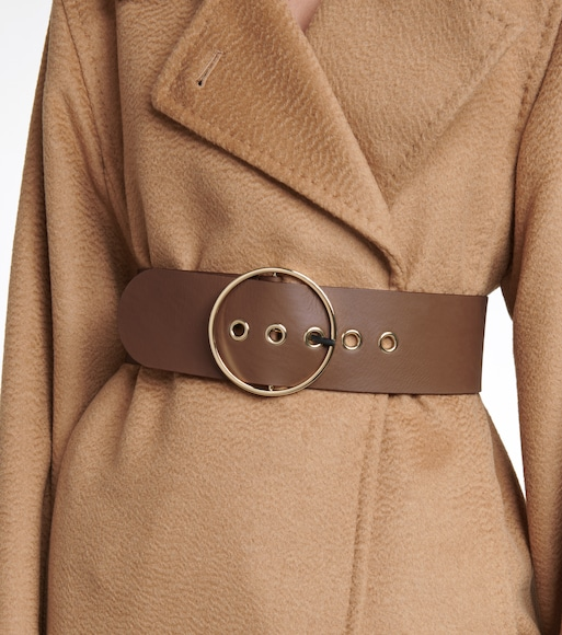 Max Mara - Leather belt - mytheresa.com