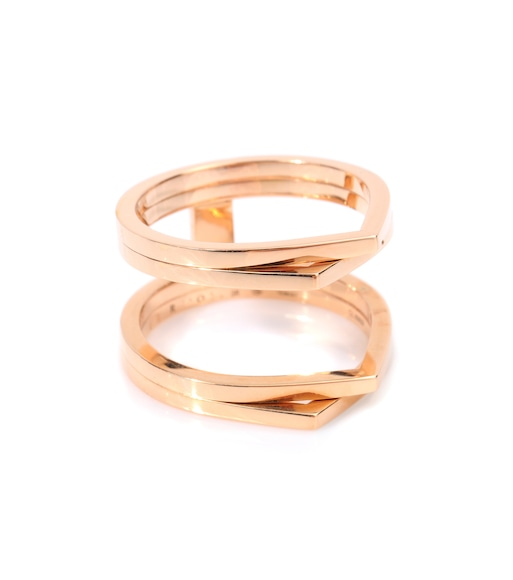 Repossi - Bague en or rose 18 ct Antifer - mytheresa.com