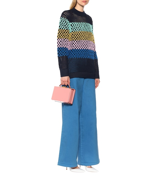 Tibi - Crochet sweater - mytheresa.com