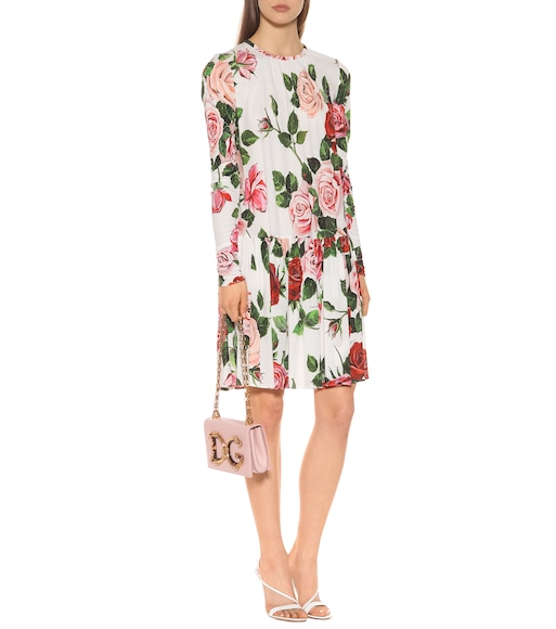 Dolce & Gabbana - Floral-printed dress - mytheresa.com