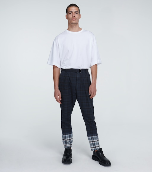 Sacai - Madras checked pants - mytheresa.com