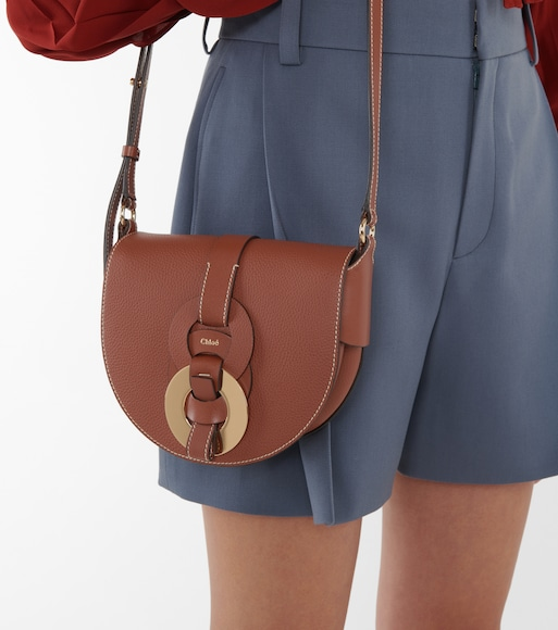 Chloé - Darryl Small leather shoulder bag - mytheresa.com