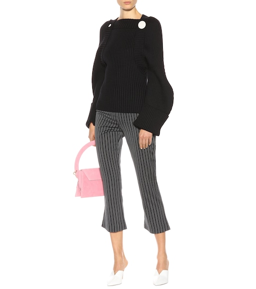 Jacquemus - La Maille Boléro wool sweater - mytheresa.com