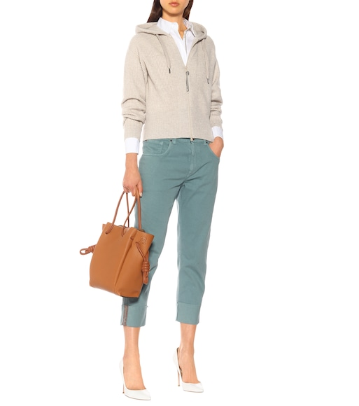 Brunello Cucinelli - High-rise cropped jeans - mytheresa.com