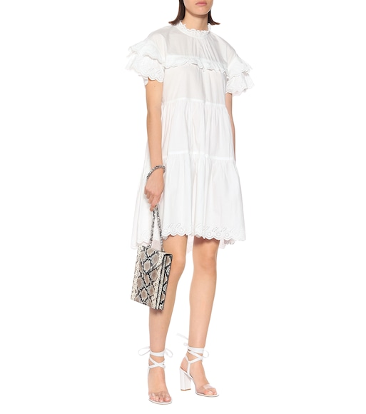 Ulla Johnson - Leonie cotton-poplin dress - mytheresa.com