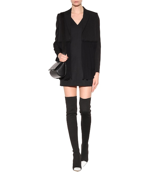 Givenchy - Graphic stretch-jersey over-the-knee boots - mytheresa.com