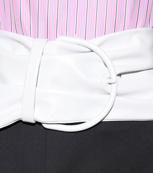 Balenciaga - Leather belt - mytheresa.com