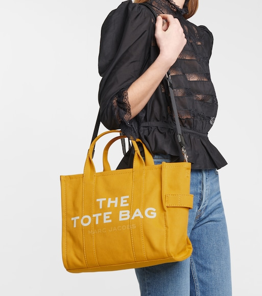 Marc Jacobs - The Traveler Small canvas tote - mytheresa.com