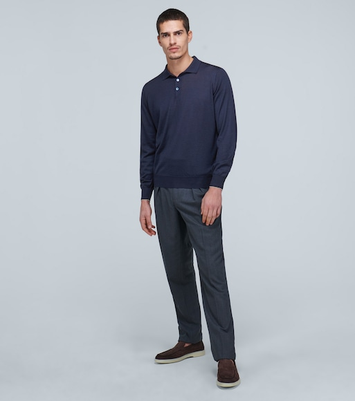 Brunello Cucinelli - Polo-style sweater - mytheresa.com