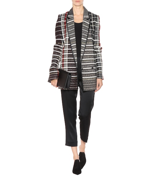 Haider Ackermann - Plaid jacket - mytheresa.com