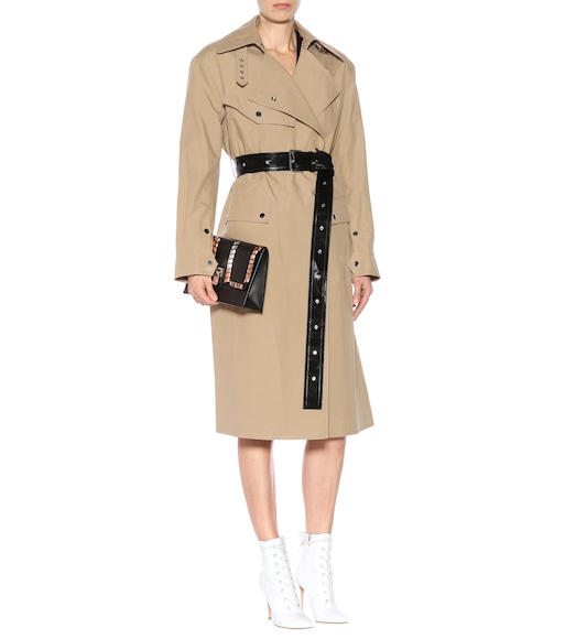 Helmut Lang - Utility Mackintosh cotton coat - mytheresa.com