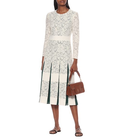 Tory Burch - Cotton-blend lace dress - mytheresa.com