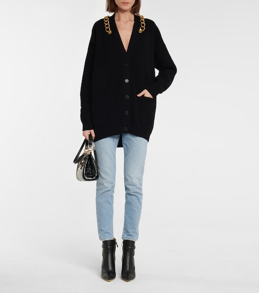Givenchy - Wool and cashmere cardigan - mytheresa.com