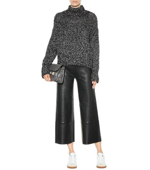 Stouls - Leather trousers - mytheresa.com