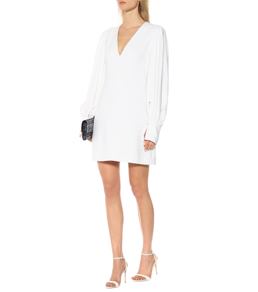Stella McCartney - Crêpe mini dress - mytheresa.com