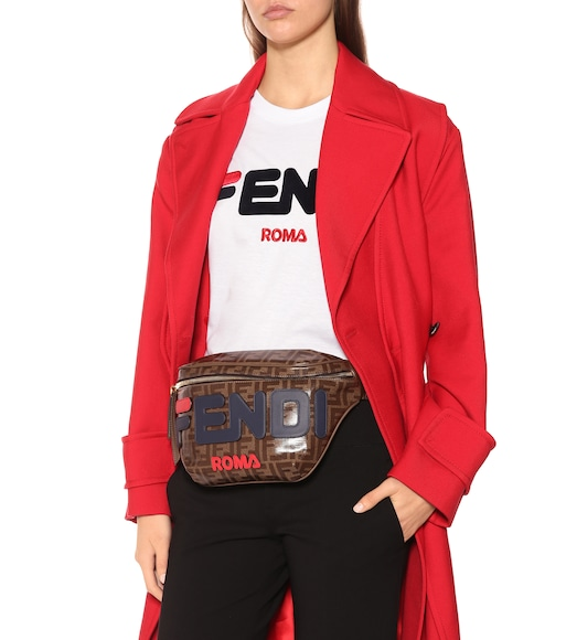 Fendi - FENDI MANIA printed belt bag - mytheresa.com