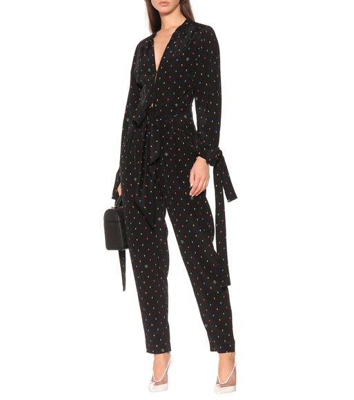 Stella McCartney - Kiera silk jumpsuit - mytheresa.com