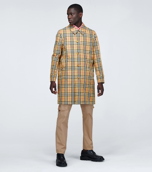 Burberry - Vintage check reversible raincoat - mytheresa.com